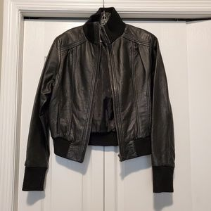 Ted by Max Azria Genuine Leather Jacket